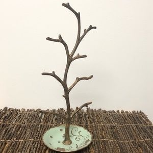Cynthia Rowley jewelry tree dish stand